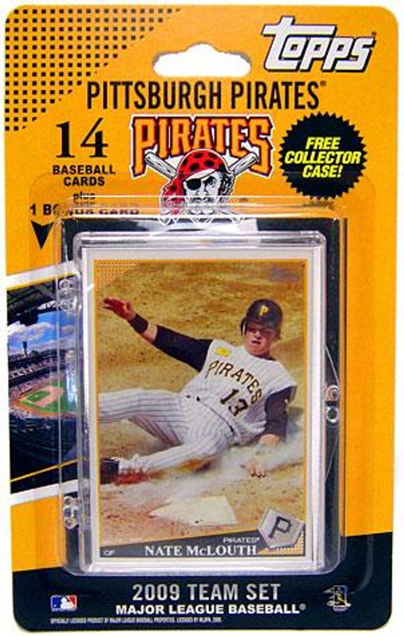 MLB 2009 Topps Baseball Cards Pittsburgh Pirates Team Set [Includes PNC BallPark Card]