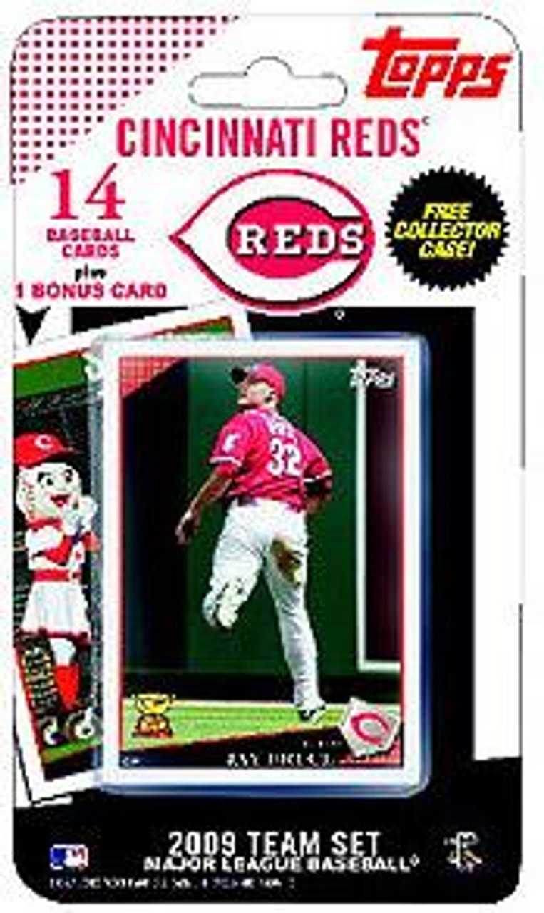 MLB 2009 Topps Baseball Cards Cincinnati Reds Team Set [Includes Mr. Redlegs Card]