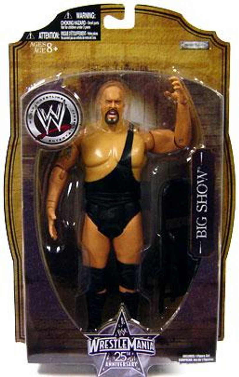 WWE Wrestling WrestleMania 25 Series 1 Big Show Action Figure