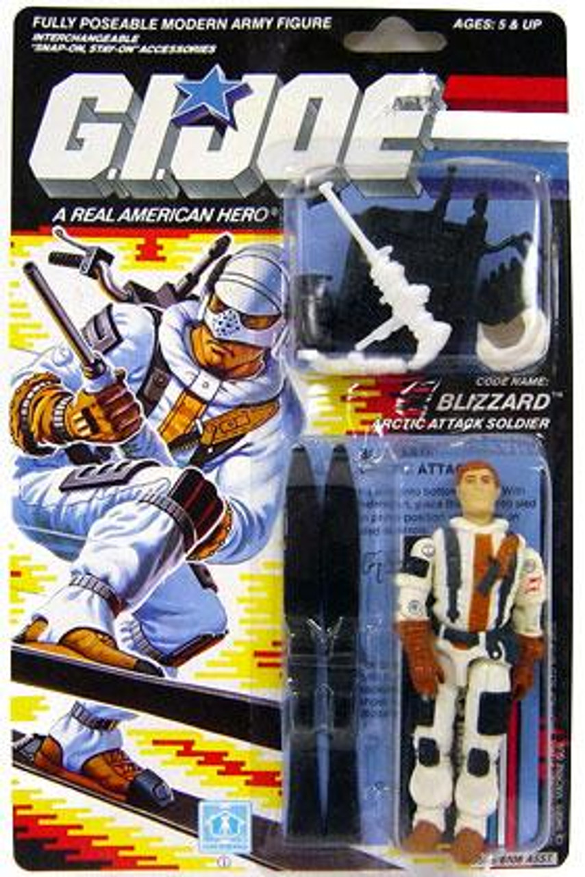 GI Joe Vintage Blizzard Action Figure [Version 1]