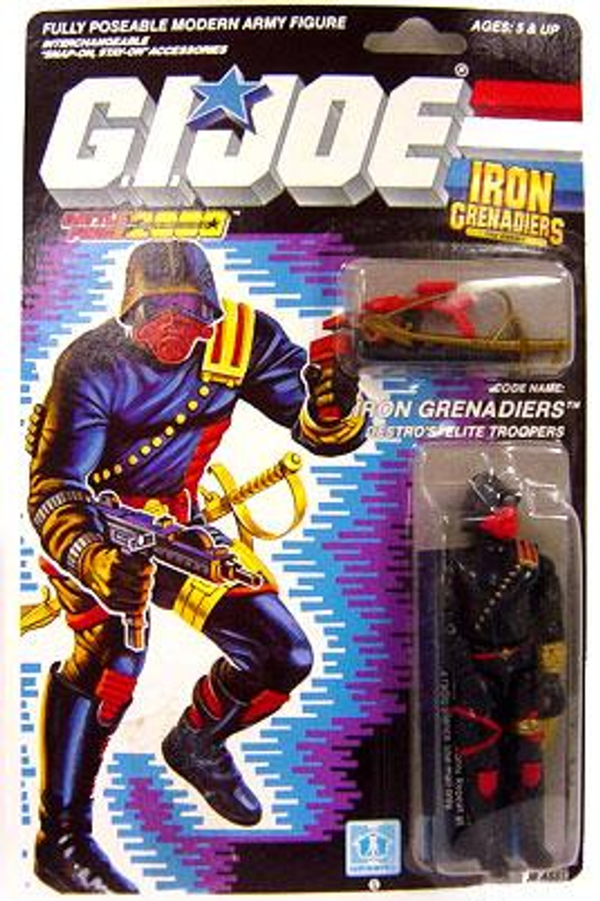 GI Joe Vintage Iron Grenadiers Action Figure [Version 1]