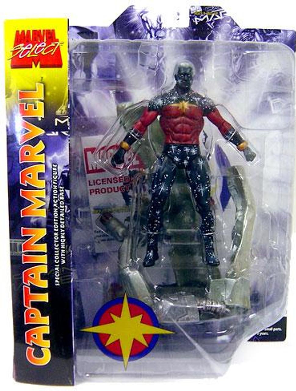 Marvel Select Captain Marvel Action Figure [Gray Skin]