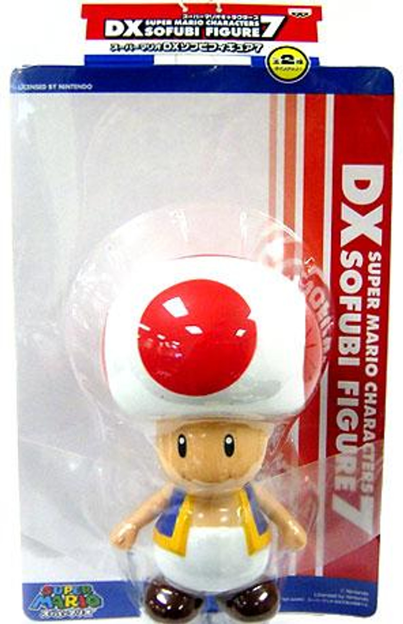 Super Mario DX Sofubi Series 7 Toad 9-Inch Vinyl Figure