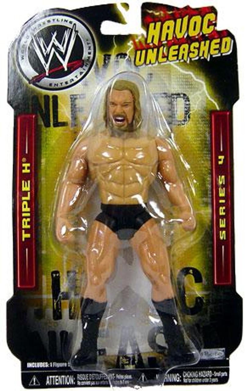 WWE Wrestling Havoc Unleashed Series 4 Triple H Action Figure