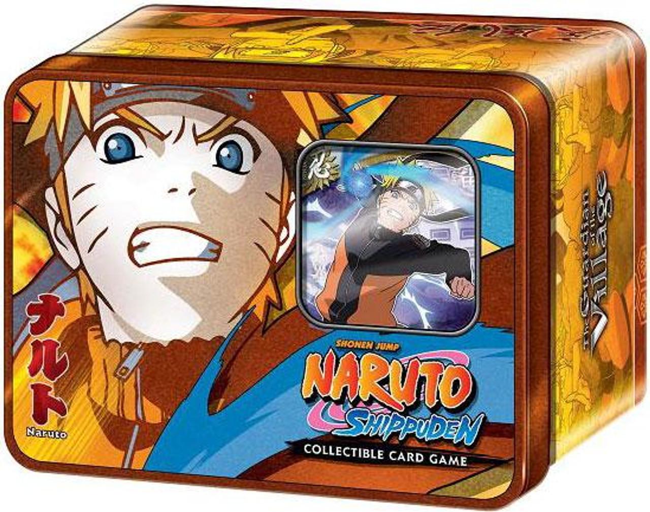 Shippuden Card Game Guardian of the Village Naruto Collector Tin