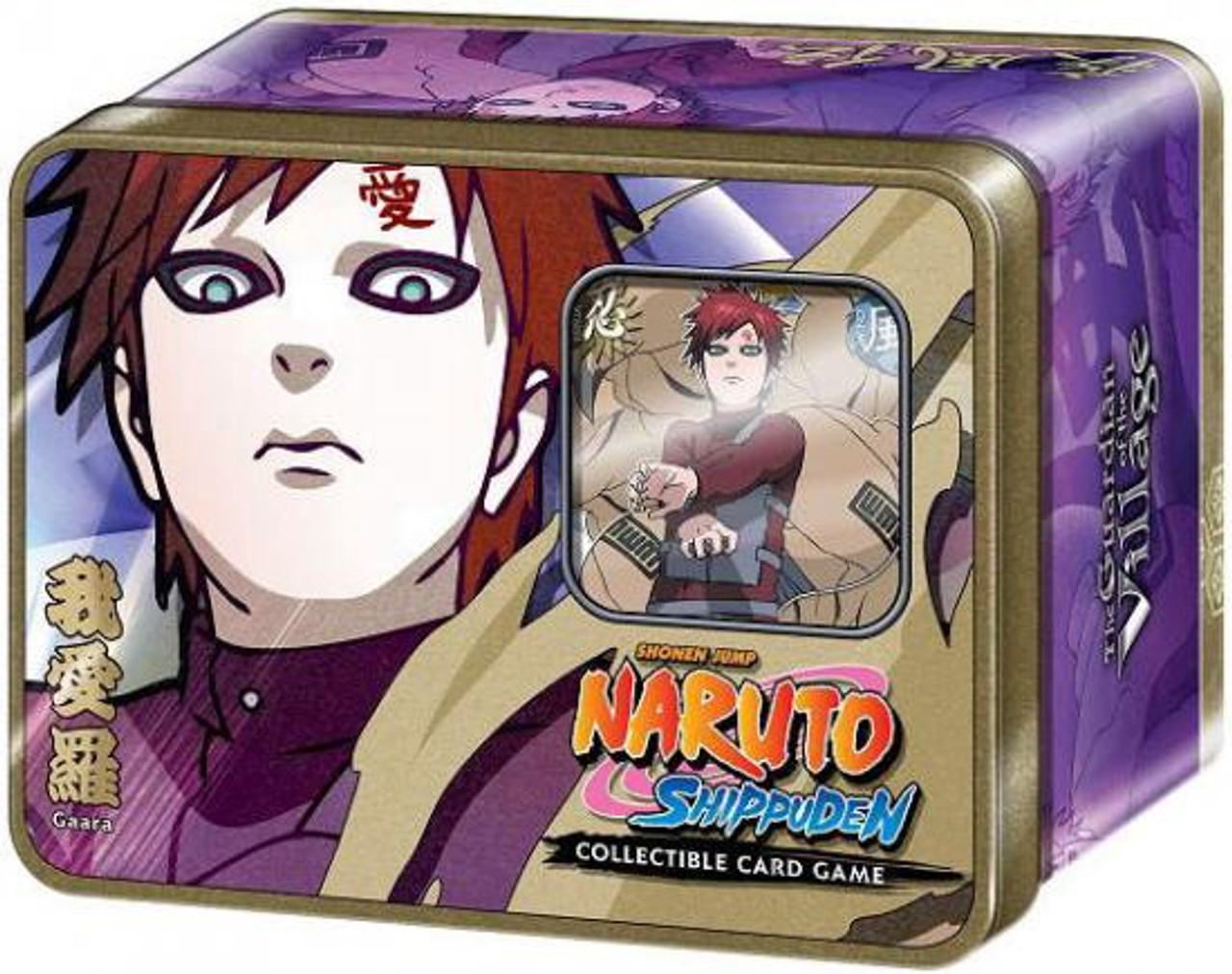 Naruto Shippuden Card Game Guardian of the Village Gaara Collector Tin