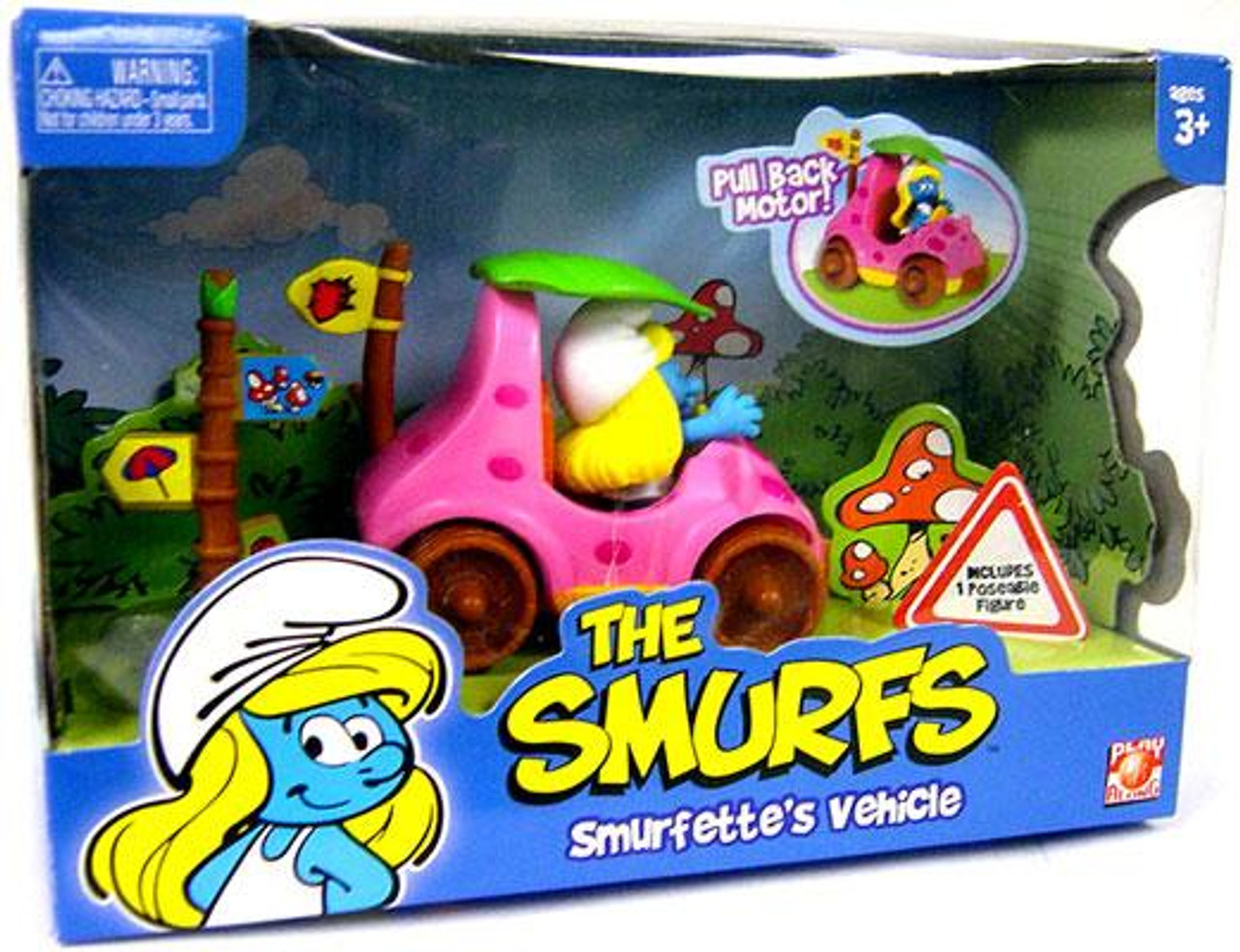 The Smurfs Smurfette's Vehicle Figure Set