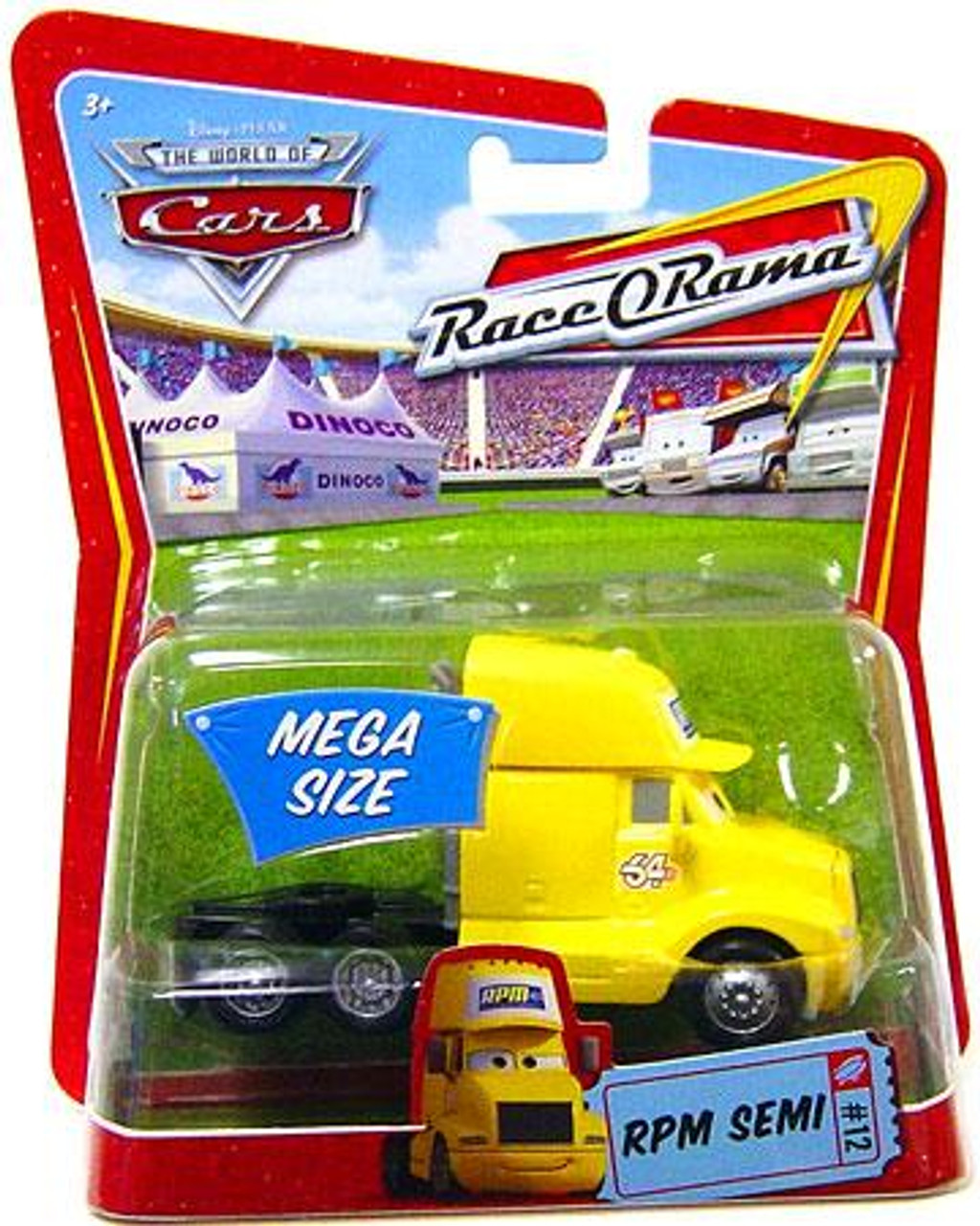 Disney Cars The World of Cars Race-O-Rama RPM Semi Diecast Car #12