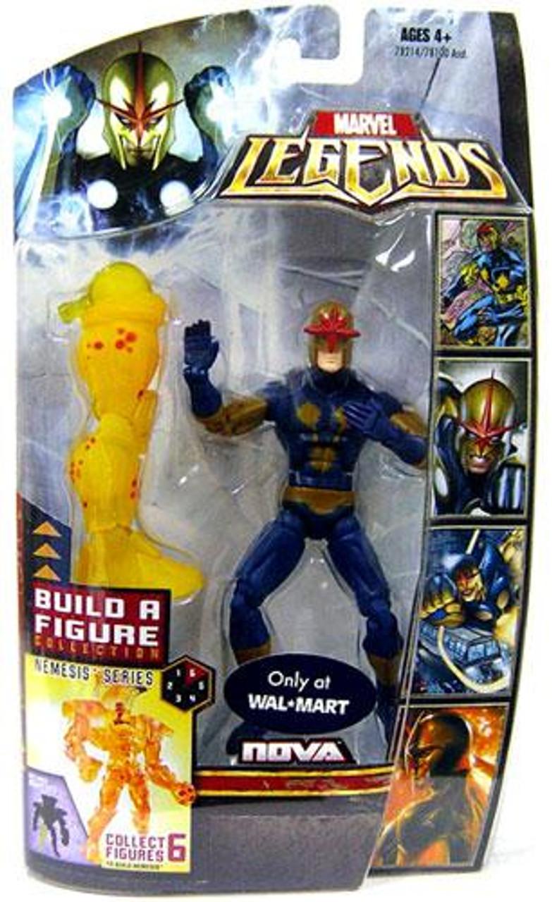 Marvel Legends Nemesis Build a Figure Nova Exclusive Action Figure