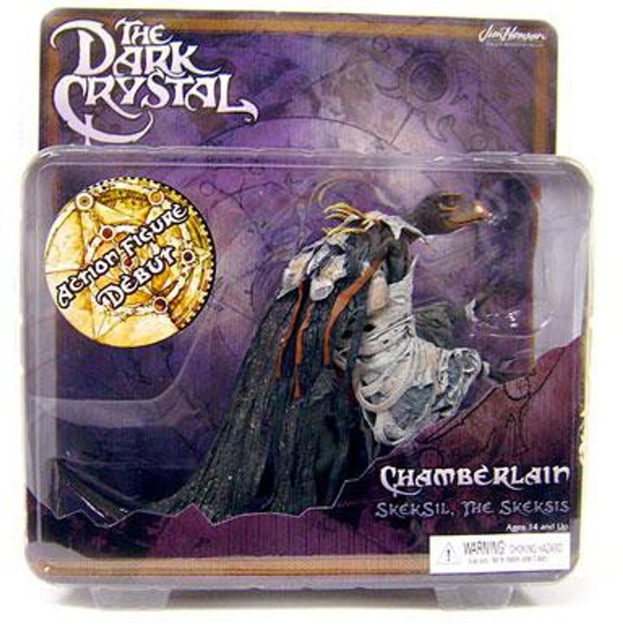 NECA The Dark Crystal Cult Classics Hall of Fame Chamberlain Action Figure [Skeksil, The Skeksis]