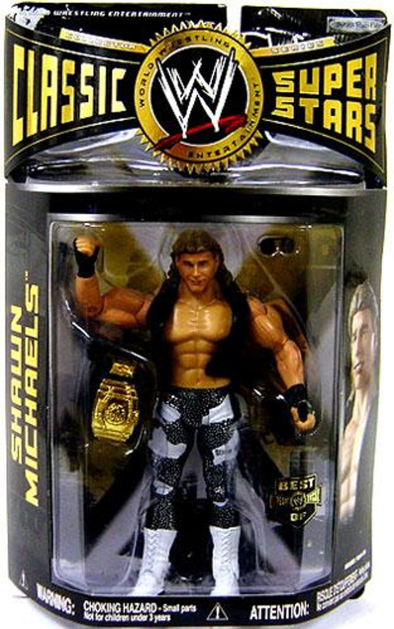 WWE Wrestling Classic Superstars Exclusives Shawn Michaels Exclusive Action Figure