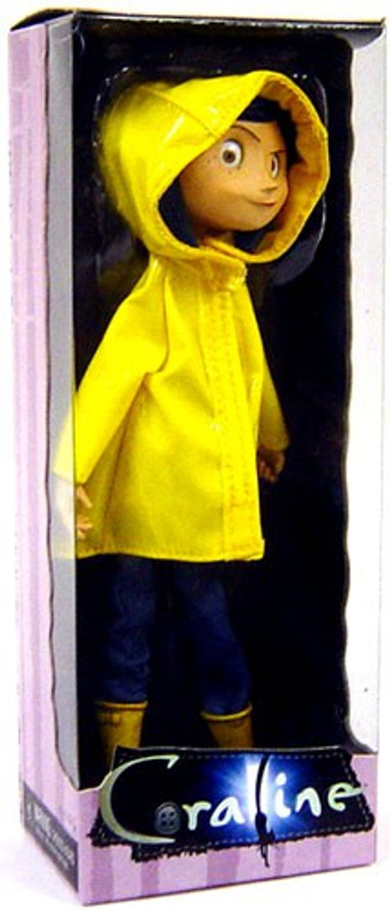 NECA Coraline 7-Inch Bendable Fashion Doll [Raincoat Re-Issue] (Pre-Order ships October)