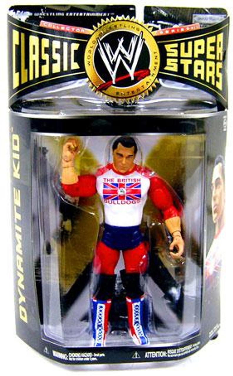 WWE Wrestling Classic Superstars Series 24 Dynamite Kid Action Figure [British Bulldogs]