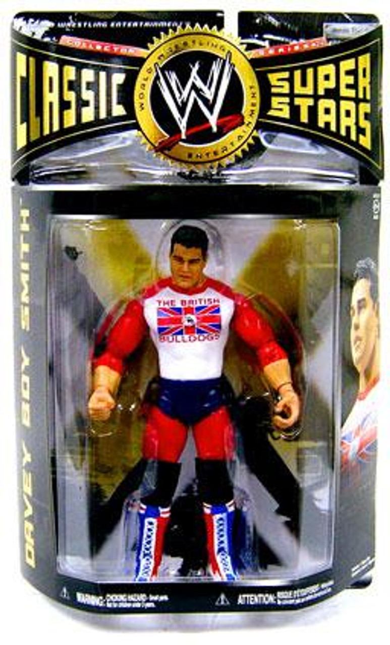 WWE Wrestling Classic Superstars Series 24 Davey Boy Smith Action Figure [British Bulldogs]