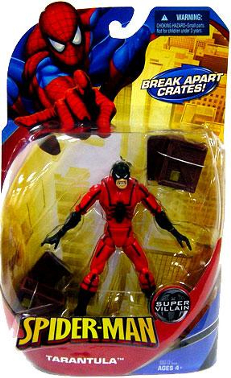 Spider-Man Classic Super Villains Tarantula Action Figure
