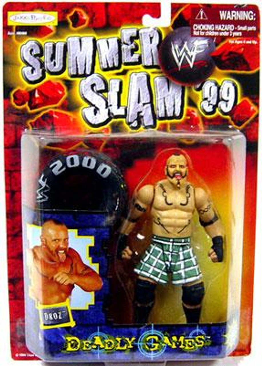 WWE Wrestling WWF Summer Slam '99 Droz Action Figure