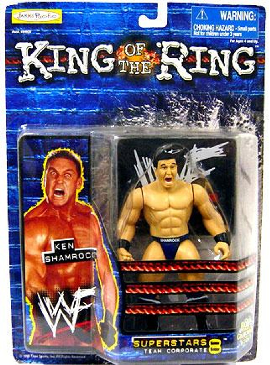 WWE Wrestling WWF King of the Ring Superstars Ken Shamrock Action Figure