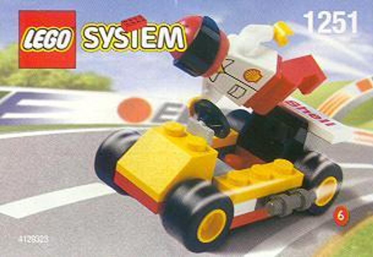 LEGO System Dragster Set #1251