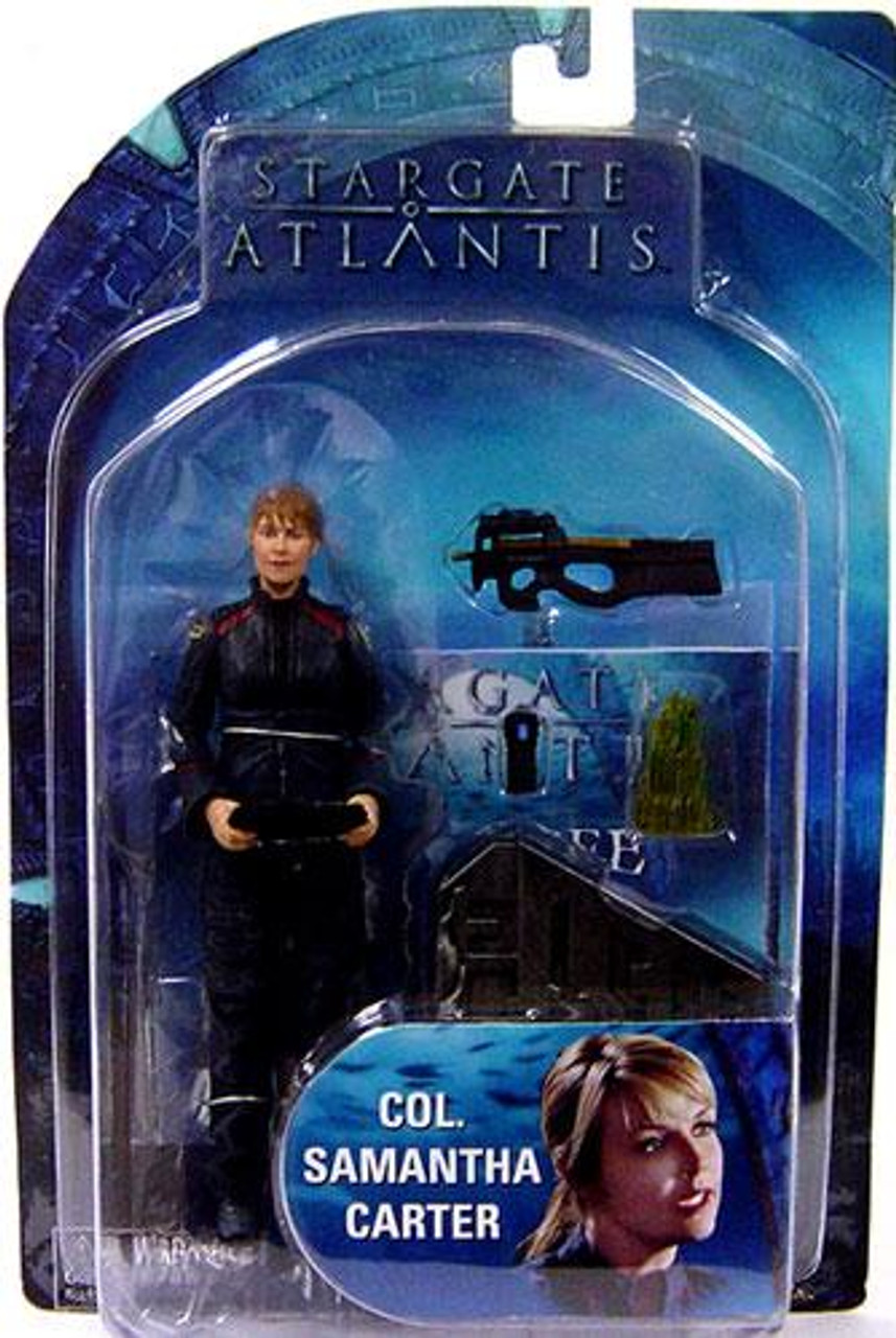 Stargate Atlantis Series 3 Samantha Carter Action Figure [Colonel]