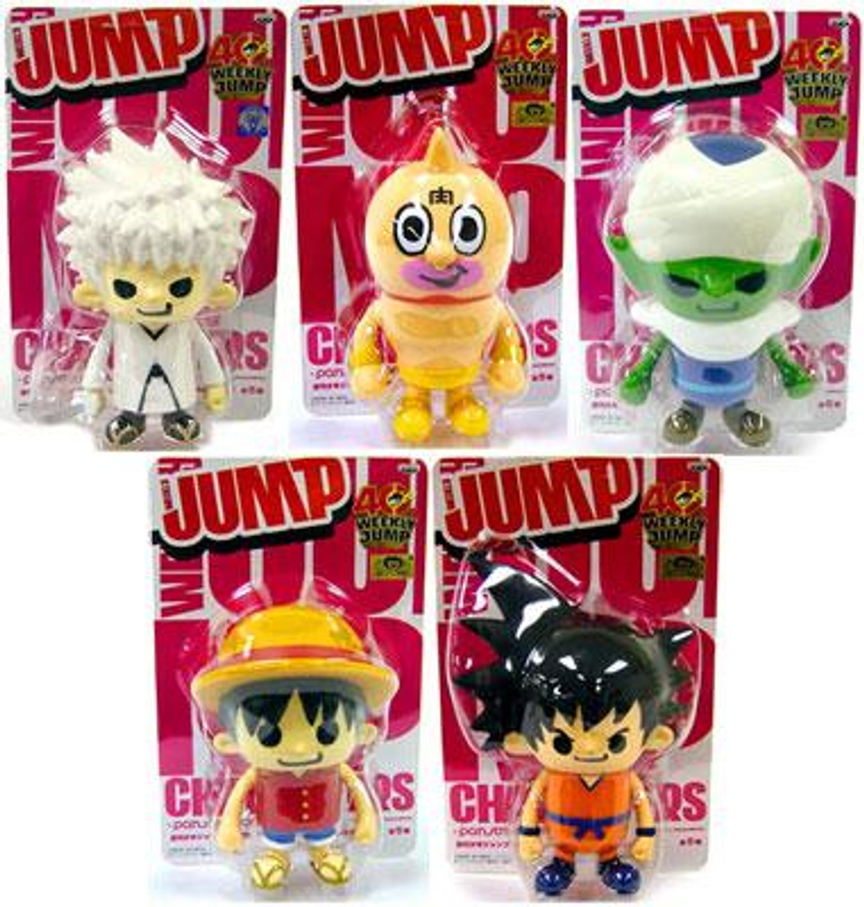 Shonen Jump Weekly Jump Series 4 Set of 5 PVC Figures PVC Figures