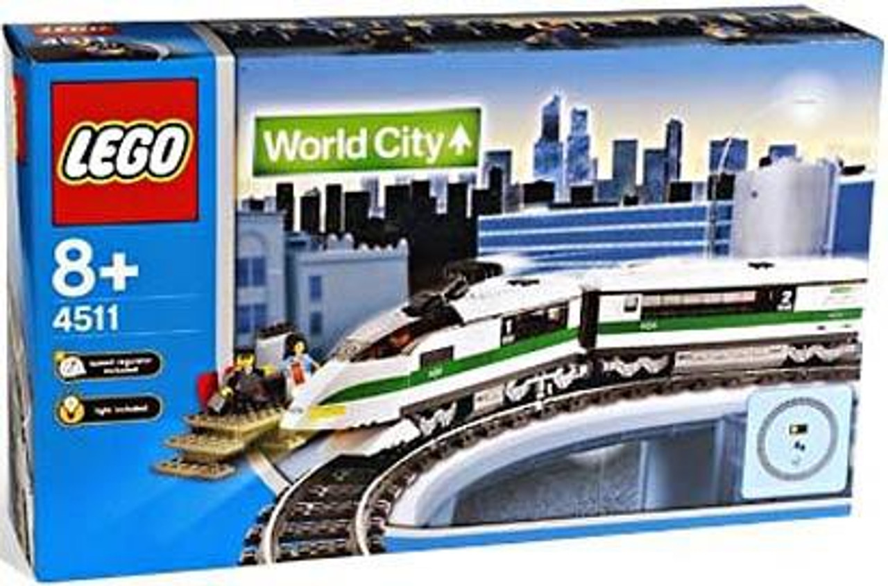 LEGO World City High Speed Train Set #4511