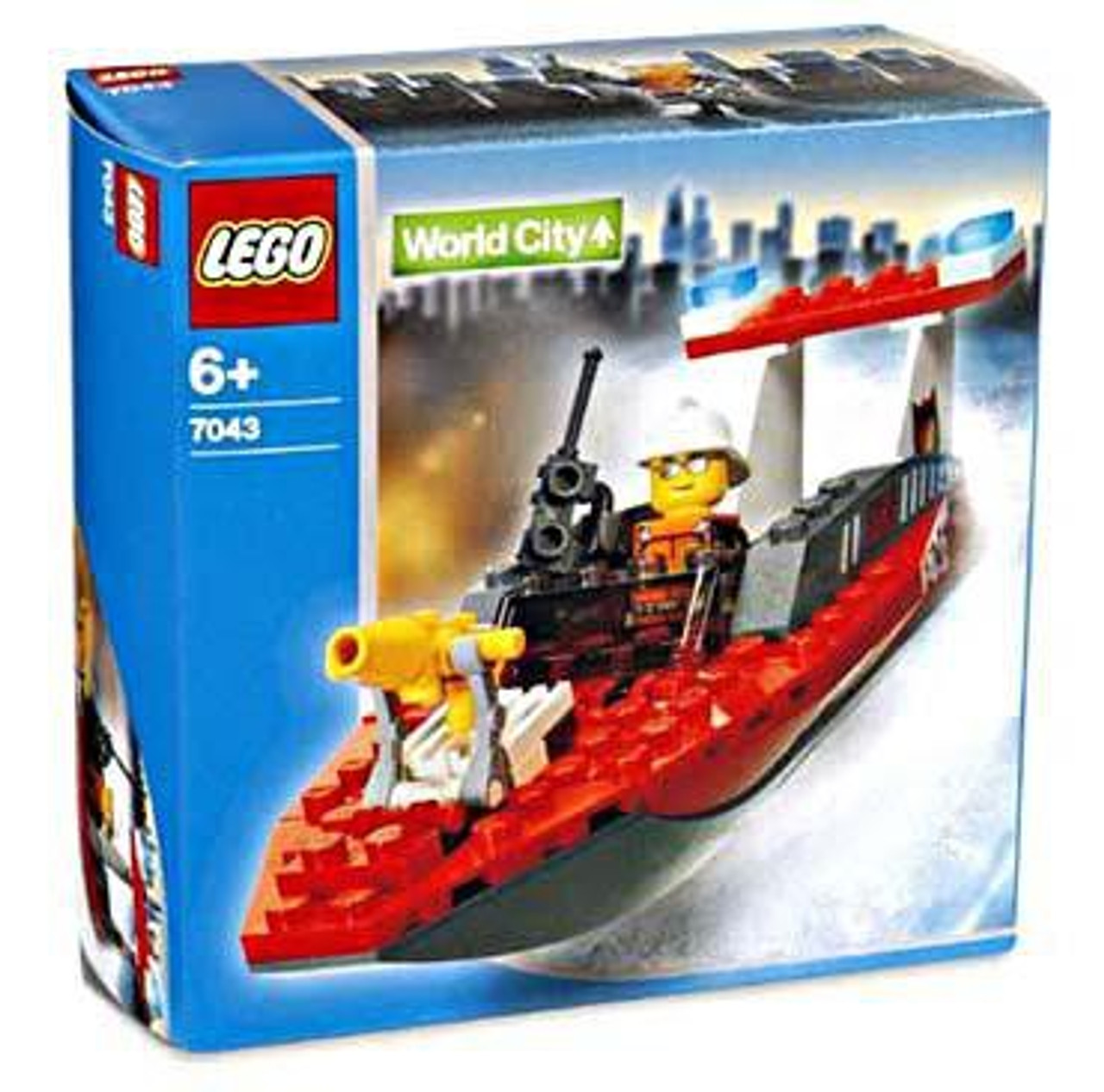 LEGO World City Firefighter Set #7043