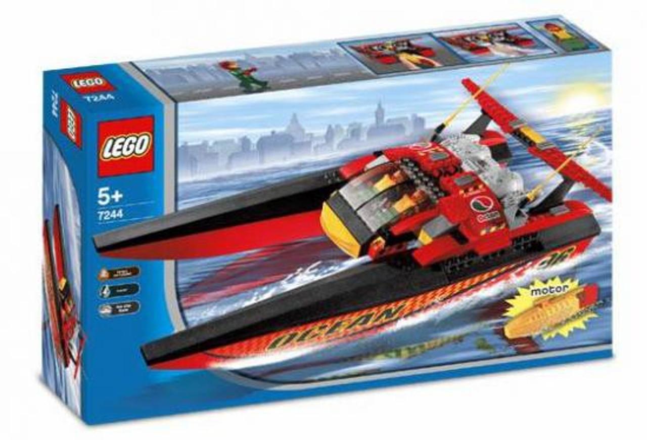 LEGO City Speedboat Set #7244