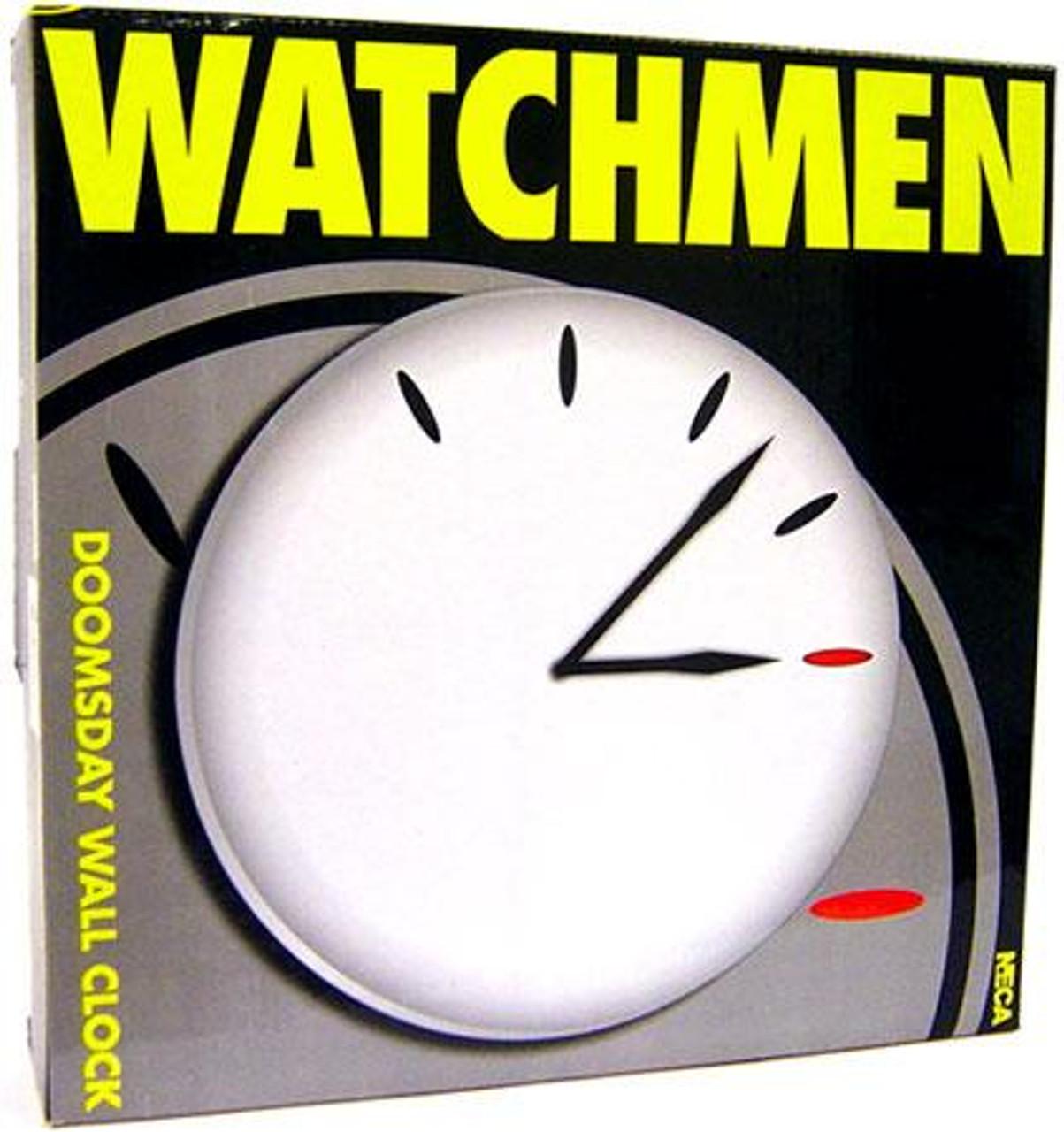 NECA Watchmen Doomsday Wall Clock [White]