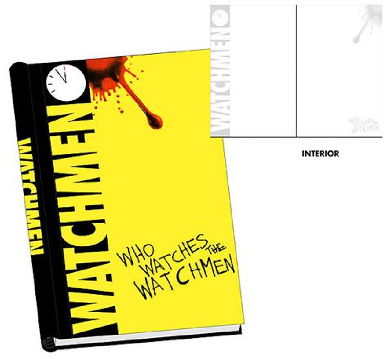 """NECA """"Who Watches the Watchmen"""" Hard Cover Journal"""