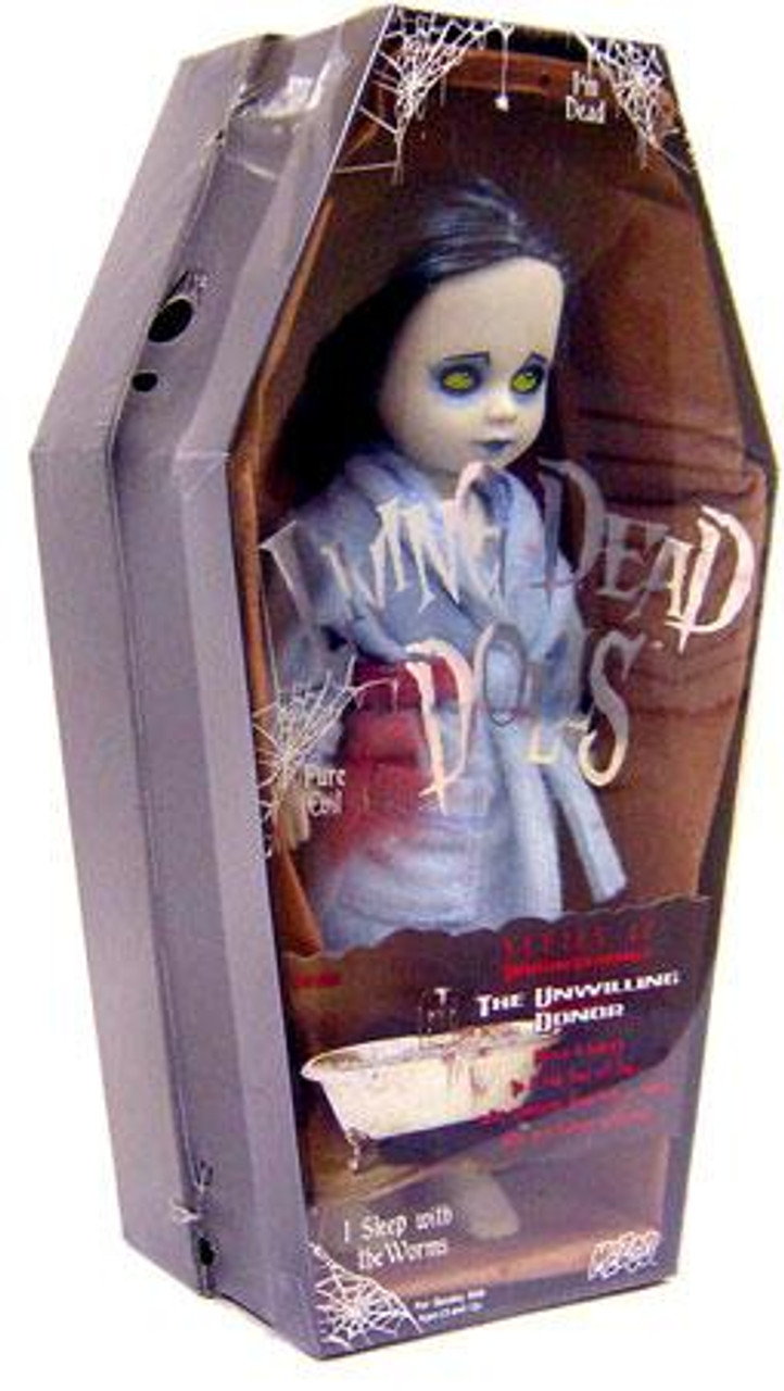 Living Dead Dolls Series 17 Urban Legends The Unwilling Donor Doll