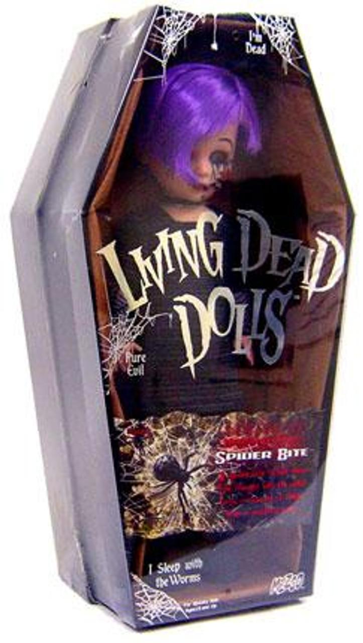 Living Dead Dolls Series 17 Urban Legends Spider Bite Doll