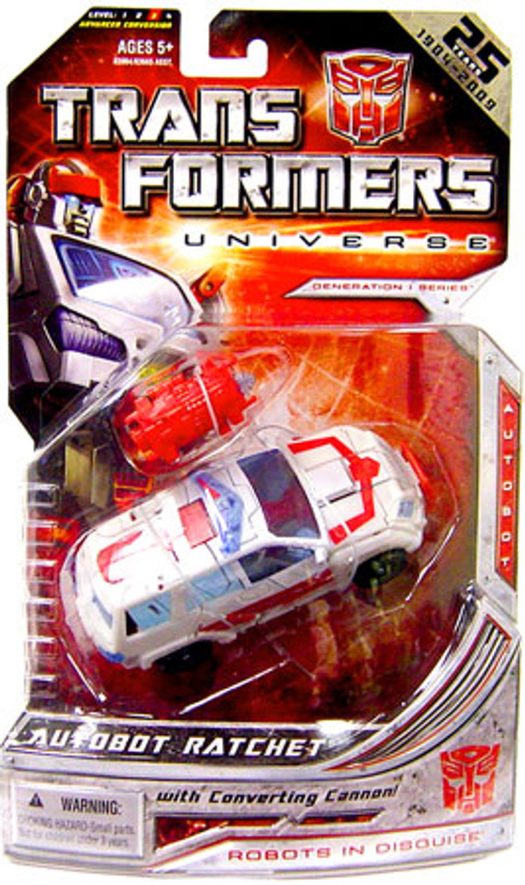 Transformers Universe 25th Anniversary Deluxe Autobot Ratchet Deluxe Action Figure