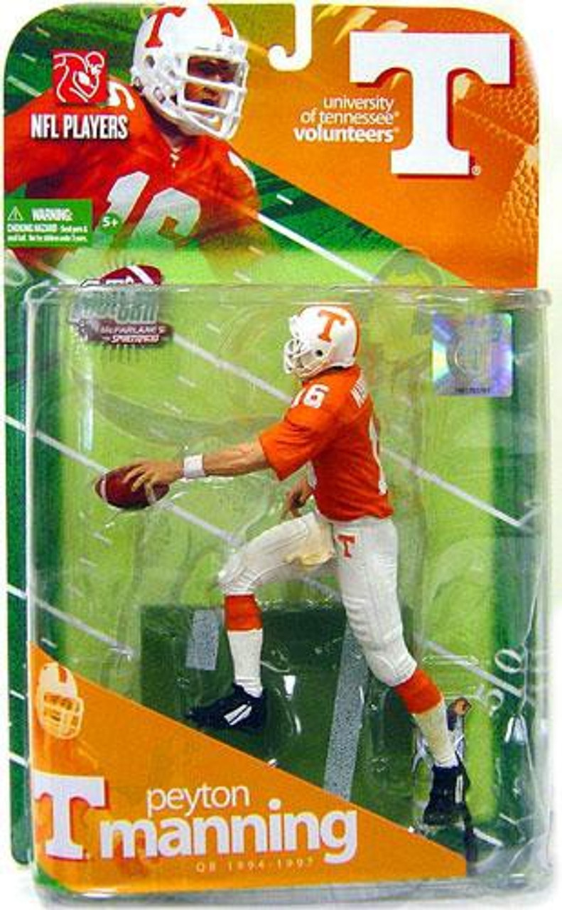 McFarlane Toys NCAA College Football Sports Picks Peyton Manning Action Figure