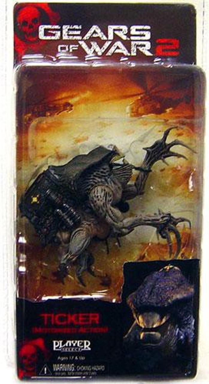 NECA Gears of War 2 Series 4 Ticker Action Figure