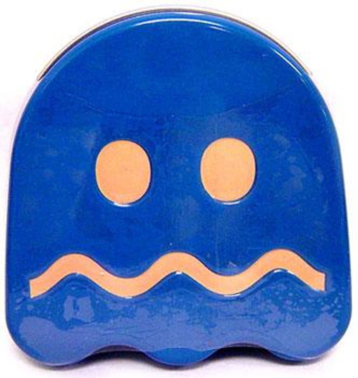 Pac Man Turned Blue Ghost Sours Candy Tin [Blue]