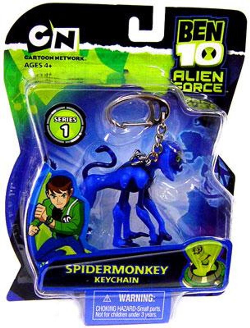 Ben 10 Alien Force Spidermonkey Keychain