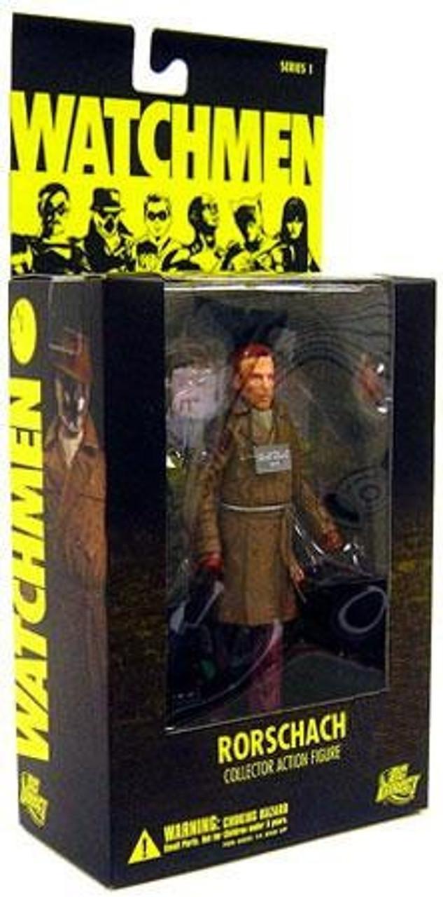 DC Watchmen Series 1 Rorschach Exclusive Action Figure [No Mask]