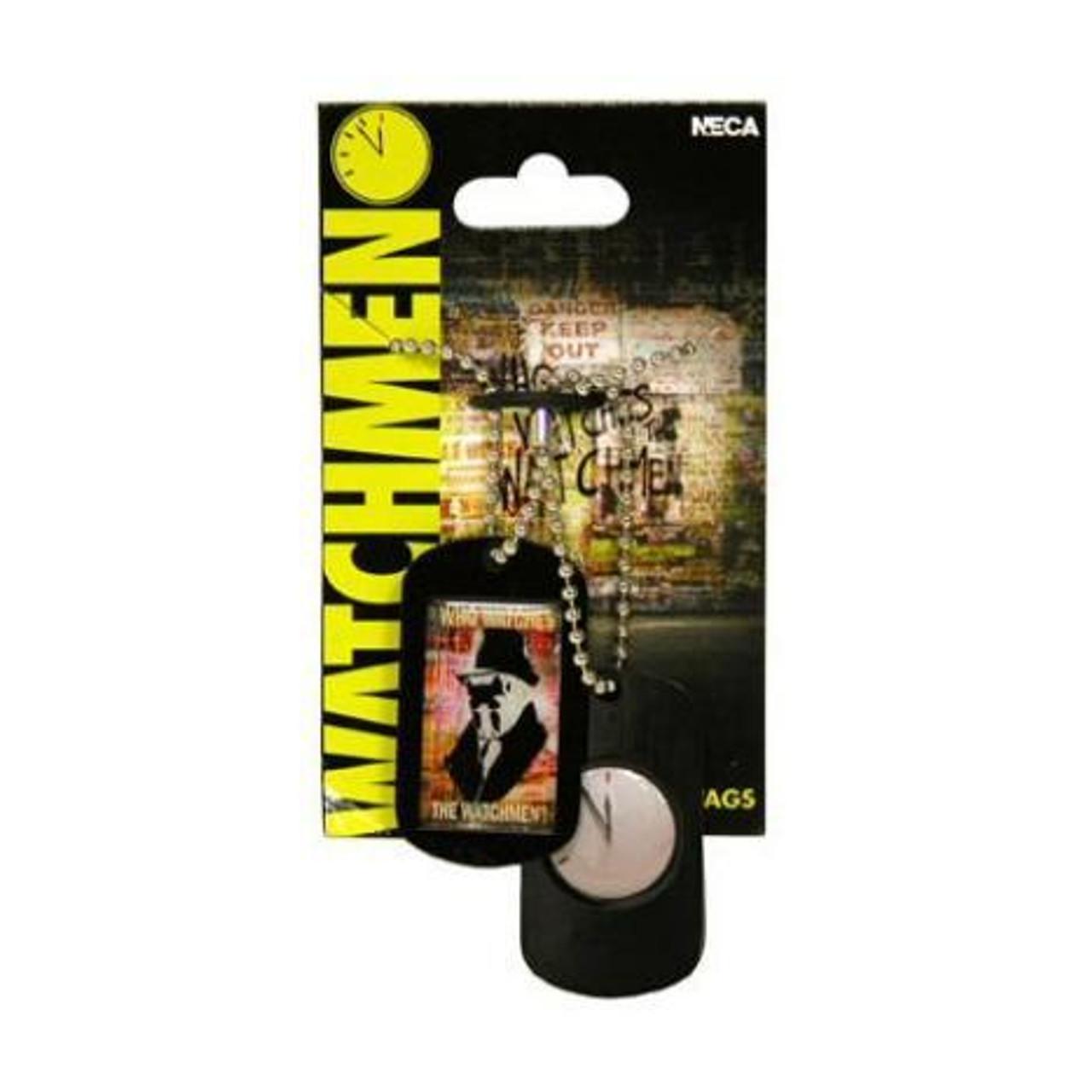NECA Watchmen Pop Art Rorschach Epoxy Dog Tags