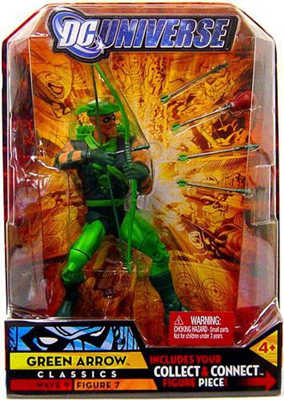 DC Universe Classics Chemo Series Green Arrow Action Figure #7