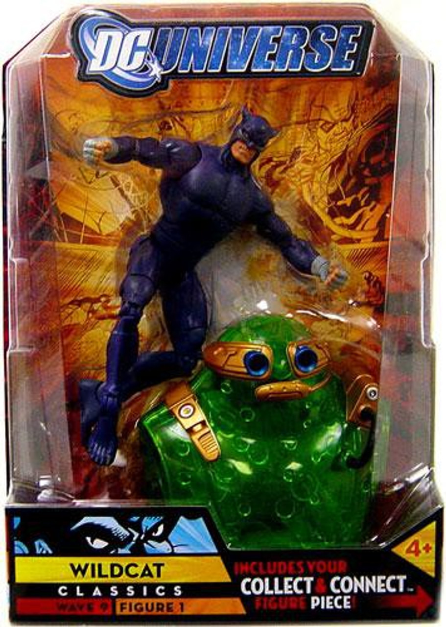 DC Universe Classics Chemo Series Wildcat Action Figure #1 [Purple Variant]