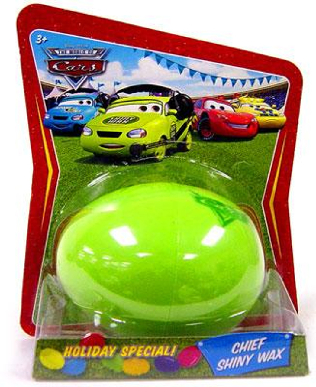 Disney Cars The World of Cars Easter Eggs Easter Egg Chief Shiny Wax Diecast Car