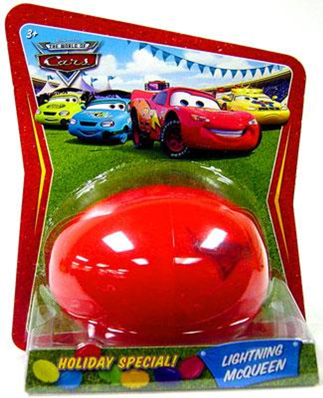 Disney Cars The World of Cars Easter Eggs Easter Egg Lightning McQueen Diecast Car