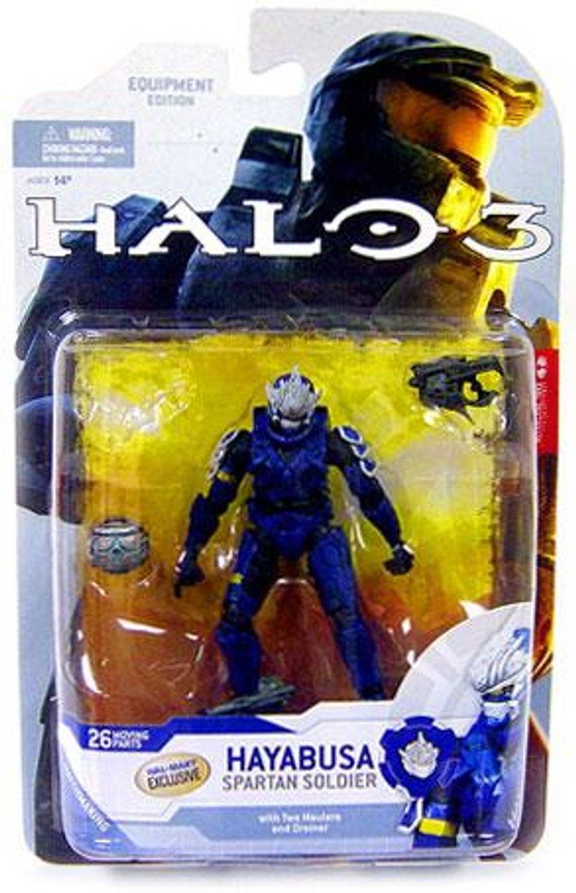 McFarlane Toys Halo 3 Series 4 Spartan Soldier Hayabusa Exclusive Action Figure [Blue]