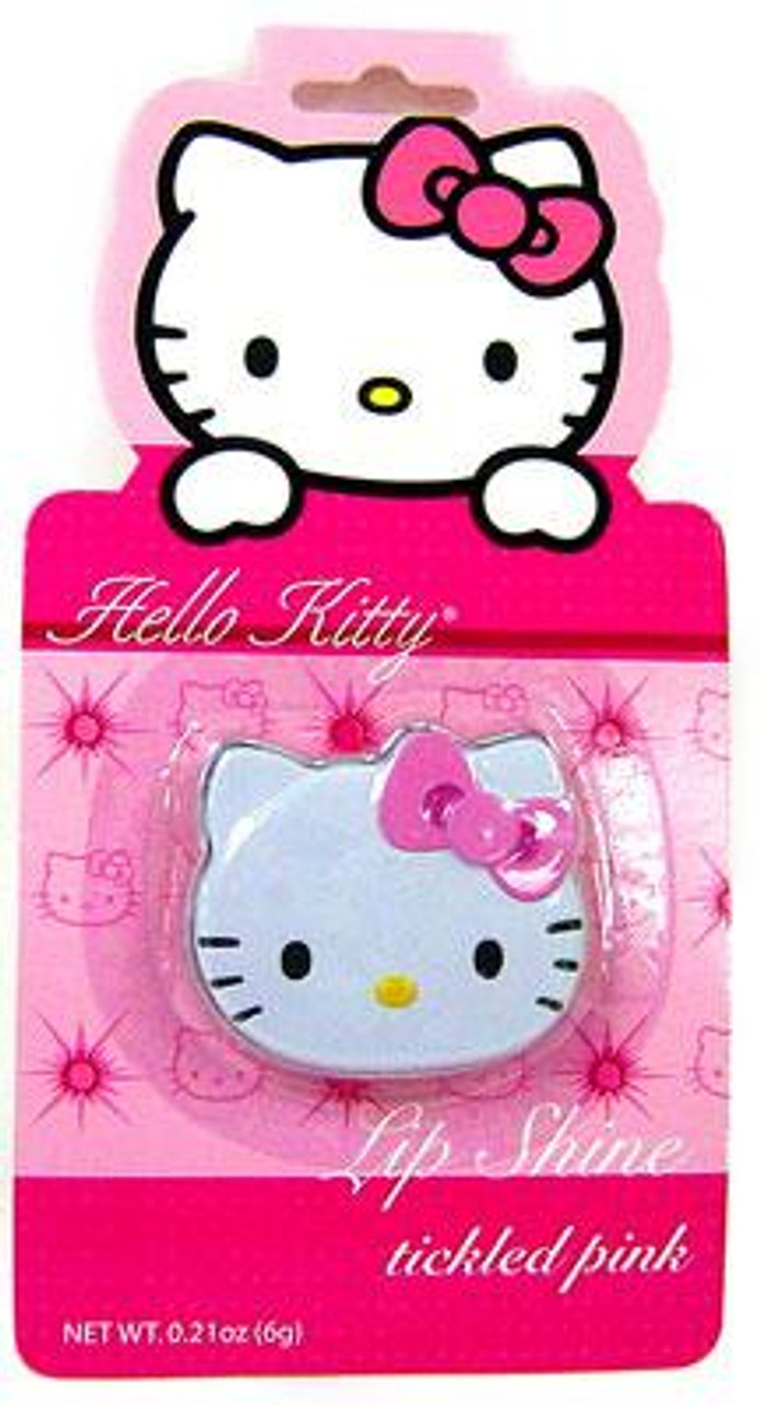 Hello Kitty Tickled Pink Lip Shine [Candy-Flavored]