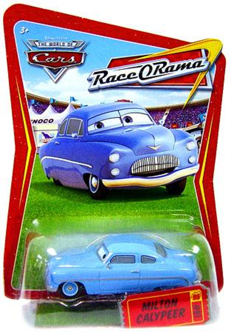 Disney Cars The World of Cars Race-O-Rama Milton Calypeer Diecast Car #81
