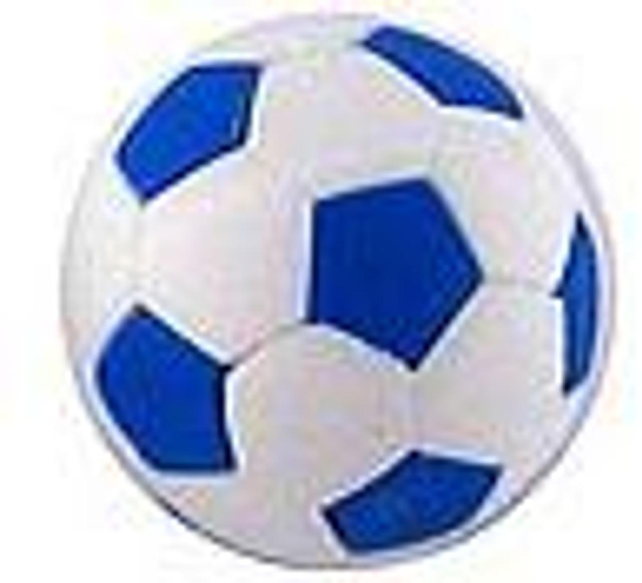 Iwako Blue Soccer Ball Eraser