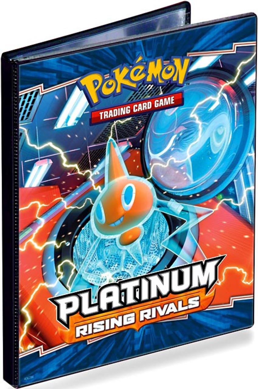 Ultra Pro Pokemon Platinum Rising Rivals 4-Pocket Binder [Random Cover]