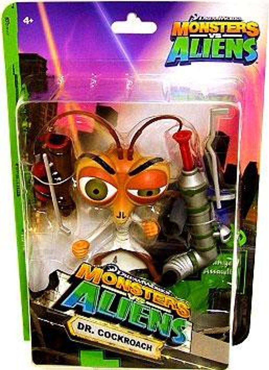 Monsters vs. Aliens Dr. Cockroach Action Figure
