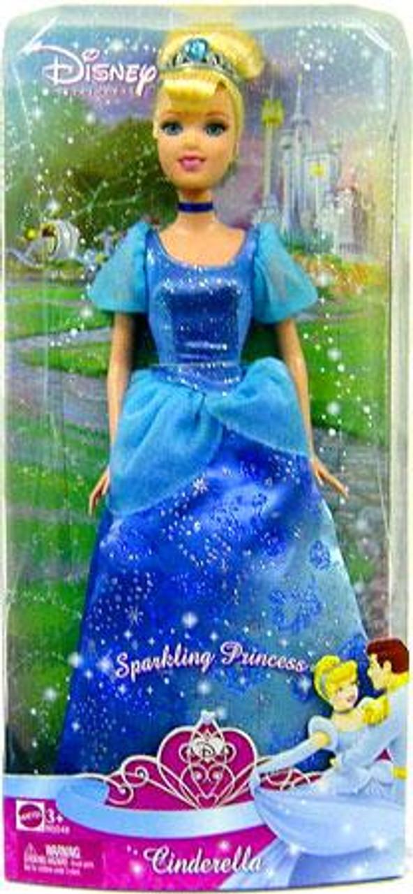 Disney Princess Sparkling Princess Cinderella 12-Inch Doll
