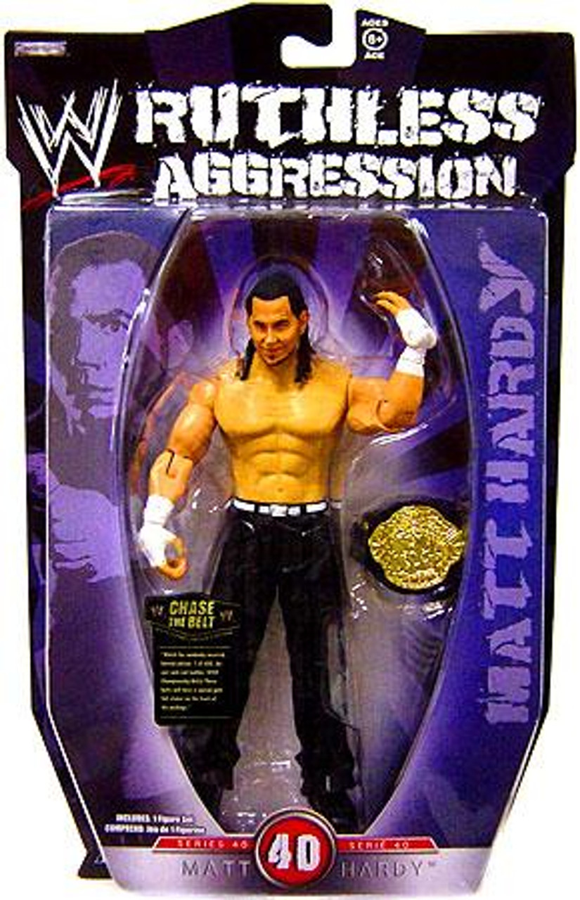 WWE Wrestling Ruthless Aggression Series 40 Matt Hardy Action Figure